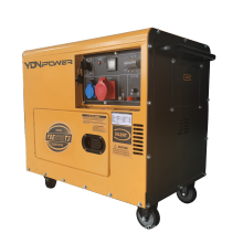 Immediate delivery with AVR 5kva portable silent diesel generator