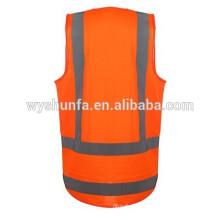 Использование в дневное и ночное время, защитные жилеты с отражающими лентами 3М, Жилеты с высокой видимостью рабочего оборудования