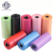 HDPE plastic custom printing pet dog doggie poop bags