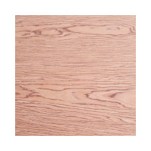 natural veneers classic cheery / red oak / black walnut fancy plywood for room decorations