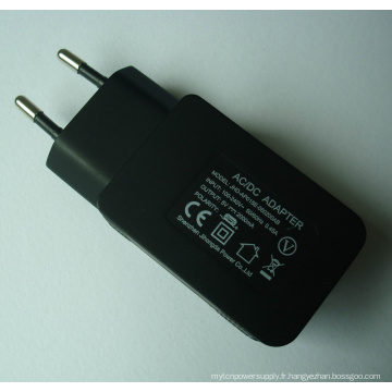 Adaptateur chargeur USB 1 port 5V2000mA
