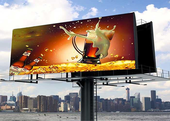 led outdoor iposter