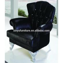 Hotel lobby wooden arm chair XY2723