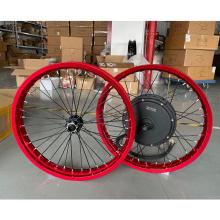 100km/h high speed electric bike conversion kit 72V 5000w electric motorcycle QS 205 V3 hub motor electric bicycle motor