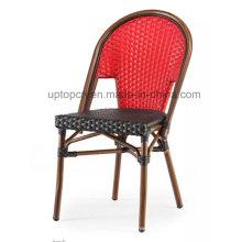 Leisure Garden Aluminum Tube Cafe Chair with PE Rattan (SP-OC370)