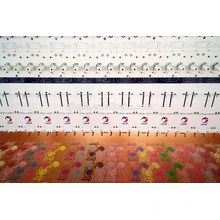 68 cabezas bordado máquina plana