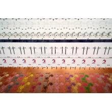 Máquina de bordar plana de 68 cabeças