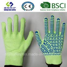 Schneiden Sie beständige Sicherheits-Arbeitshandschuh mit PVC beschichteten Handschuhen Sicherheitshandschuhe