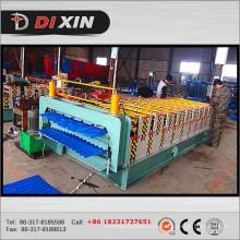 Máquina de moldagem de rolo de camada dupla de metais mais conhecida