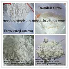 Weißes kristallines Pulver Antiöstrogen-Steroid Formestan Lentaron CAS 566-48-3