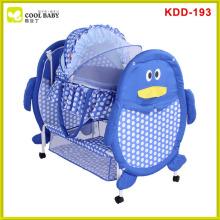Hot sale europe standard swinging baby cradle