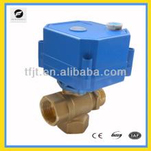 110В 3 способ три провода подключения электродвигателя управляемый клапан и руководство по эксплуатации клапана