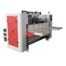 Semi - Auto High Speed Carton Box Making Machine Carton Stapler Machine