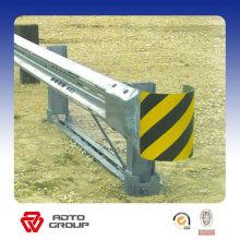 garde-corps d'autoroute en acier galvanisé