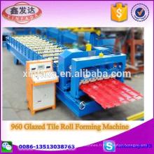960 Machine de formage de rouleaux de carreaux glacés Machine de fabrication de carreaux d'étape