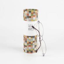 Personalisierte Runde Karton Sonnenbrillen Verpackung Box