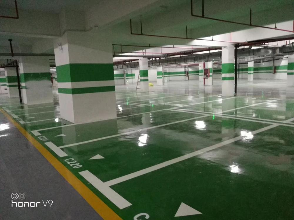 Colored Epoxy Floor Paint For Parking Lot