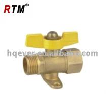 Válvula de bronze do fogão de gás da válvula de verificação HQ7016