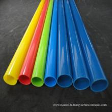 Liste de tuyau en plastique électrique de PVC avec le prix concurrentiel