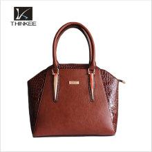 Customize Handmade Italian Full Grain Vegetable Leather Women Tote Bag, Lady Designer Handbags