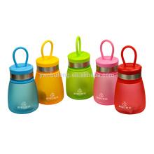 Garrafa de água bonita do tamanho pequeno colorido livre de 290ml BPA