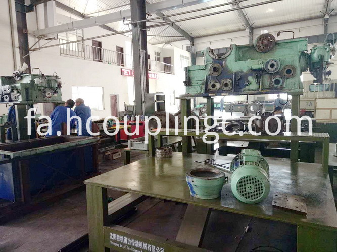 Working Oil Pump for Hydraulic Coupling