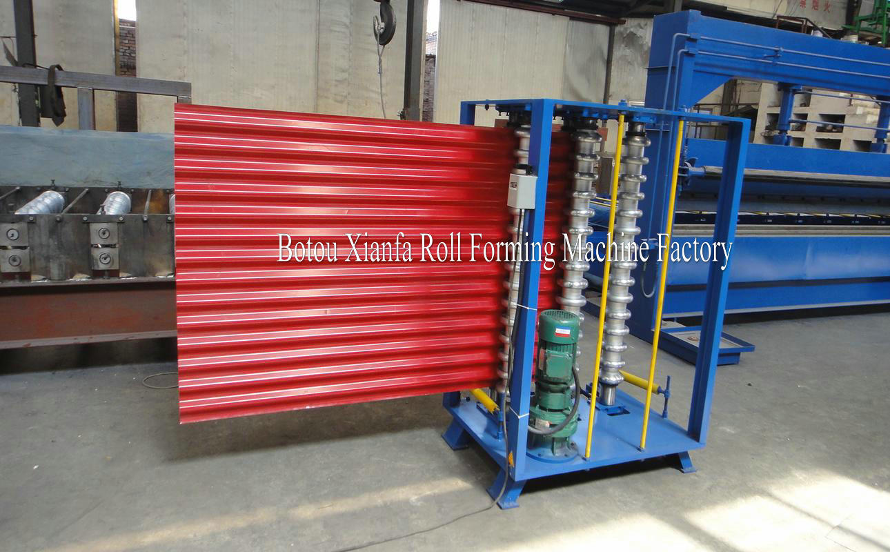 Corrugated Arc Roll Forming Machine