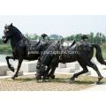 Bronze Large Horse Sculpture For Sale
