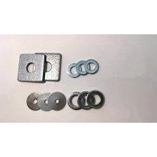 DIN 125 Dacromet Плоская шайба из углеродистой стали