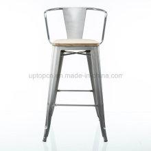 Оптовые Мульти Цвет высокий металлический барный стул с рукояткой (СП-MC076)