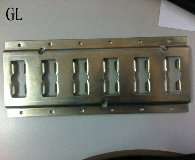 Zinc Plated 10' F Track Horizontal for Van Body Parts