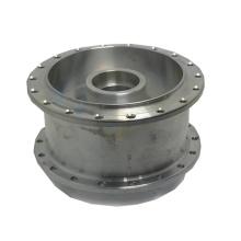 precision Motorcycle wheel with Surface aluminum oxidation cnc machining parts milling aluminium parts machining