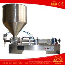 Single Head Paste Filling Machine Peanut Olive Oil Filling Machine