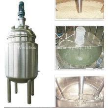Pl Edelstahl-Jacke Emulgierung Mischen Tank Öl Mischen Maschine Mischer Zucker-Lösung Farbe Farbe Mischmaschine