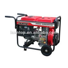 5.5kw beweglicher Dieselgenerator mit 474cc (LA188) Maschine durch Launtop