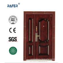 New Design and High Quality One and Half Steel Door (RA-S152)