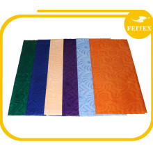100% cotton wholesale ghalila guinea brocade fabric lady dress bazin abaya jacquard dress photo FEITEX
