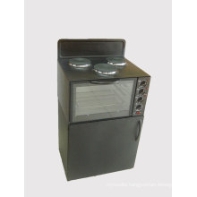 Electric Standing Stove Toaster Oven with Double Desk Case