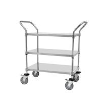 NSF Stainless Steel Utility Cart /Metal Cart/Metal Trolley (TR9045100A3)