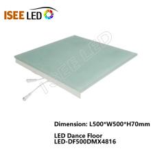Luzes conduzidas DMX de Dance Floor para a iluminação do clube