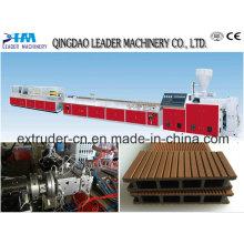 Máquina para fabricar terrazas de PVC WPC
