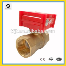 CWX-1.0B DN15 brass female-female BSP DC12V CR05 electric actuator ball valve