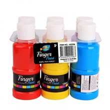 6 * 120ml Fingerfarbe