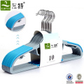 Multi-function Thick Plastic Hangers with colors
