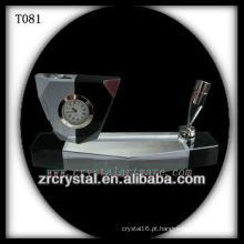 Maravilhoso K9 Crystal Clock T081
