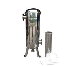 Boîtier de filtre à manches en acier inoxydable pour système d'irrigation