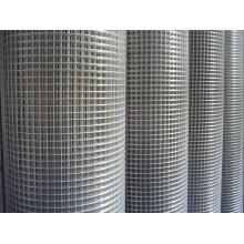 Высококачественная оцинкованная сварная сетка / оцинкованная железная сваренная проволочная сетка / оцинкованная квадратная сетка