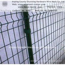 Vedação galvanizada elétrica do engranzamento de fio