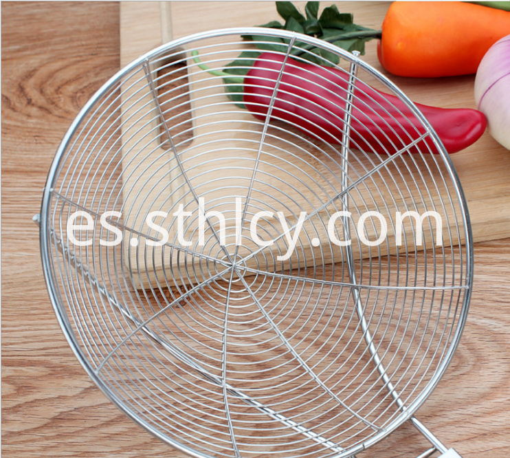 Set Of 3 Stainless Steel Mesh Strainer 1