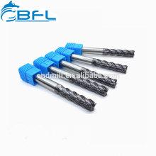 BFL-Vollhartmetall-Vierkant-Vierkantschaft-Tialn-Beschichtung D4 * 11 * 50 * 4F